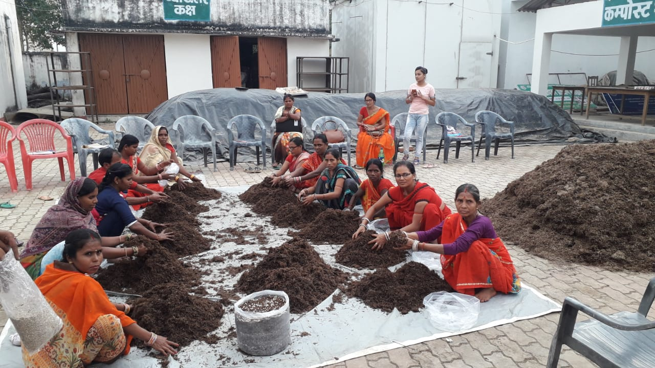 Mushroom Production Training within State at Pida Samastipur